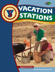 Vacation Stations: Egyptian Excursion (for rising 7th graders)