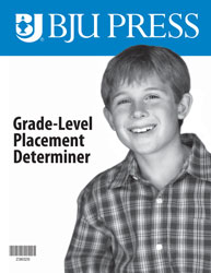 Grade Level Determiner Student Math Test Booklet Only