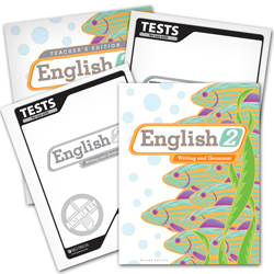 English 2 Subject Kit