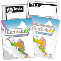 English 3 Subject Kit