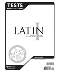 Latin 1 TestsAnswer Key (2nd ed.)