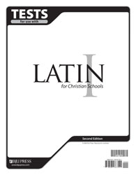 Latin 1 Tests (5 pk) (2nd ed.)