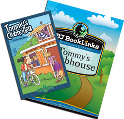 BJ BookLinks: Tommy's Clubhouse Set (guide & novel)