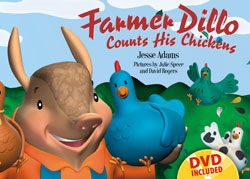 Farmer Dillo Counts His Chickens