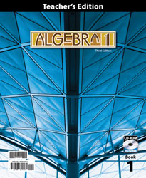 Algebra 1 Teacher's Edition with CD (3rd ed.)