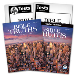 Bible Truths Level F Subject Kit