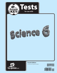 Science 6 Tests Answer Key (4th ed.)