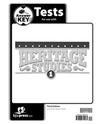 Heritage Studies 1 Tests Answer Key (3rd ed.)
