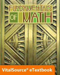 Fundamentals of Math eTextbook ST (2nd ed.)