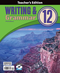 Writing & Grammar 12 Teacher's Edition with CD (3rd ed., 2 vols.)