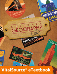 Cultural Geography eTextbook ST (3rd ed.)