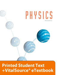 Physics eTextbook & Printed ST (3rd ed.)