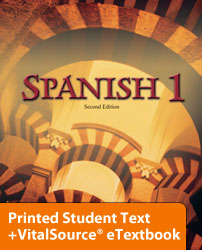 Spanish 1 eTextbook & Printed ST (2nd ed.)