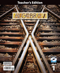 Algebra 2 Teacher's Edition with CD (3rd ed., 2 vols.)