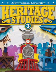 Heritage Studies 3 Student Activity Manual Answer Key (3rd ed.)