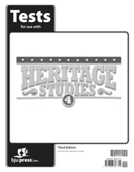 Heritage Studies 4 Tests (3rd ed.)