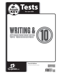 Writing & Grammar 10 Tests Answer Key (4th ed.)
