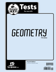 Geometry Tests Answer Key (4th ed.)