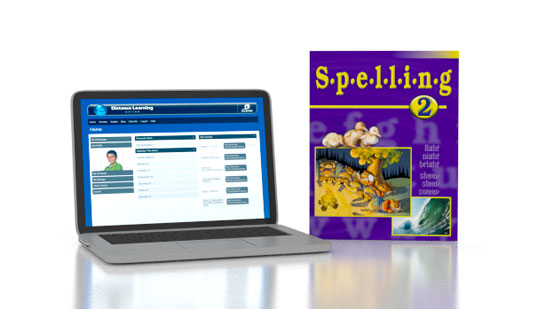 Spelling 2 Online with Books