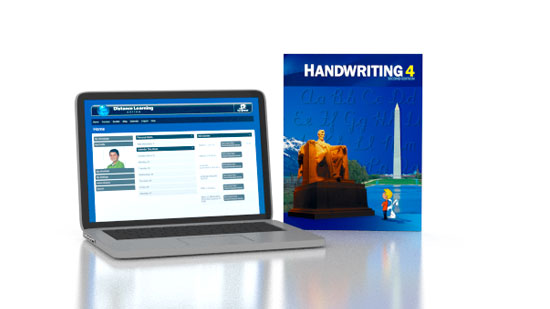 Handwriting 4 Online with Books