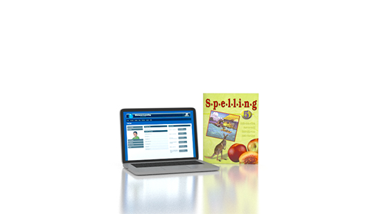 Spelling 5 Online with Books