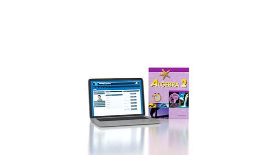 Algebra 2 Online with Books (2nd ed.)