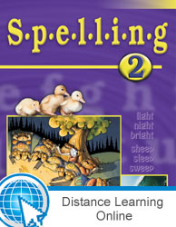Spelling 2 Online Only