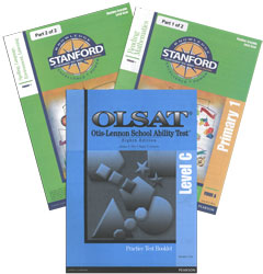 Stanford & OLSAT Grade 2 Fall (Primary 1/C, test combo)