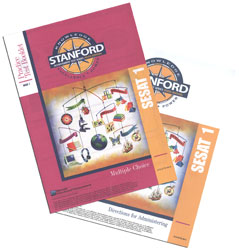 SESAT 1: Early K5 Stanford Practice Test Kit (teacher & student)