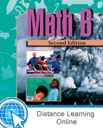 Math 6 Online with Books (2nd ed.)
