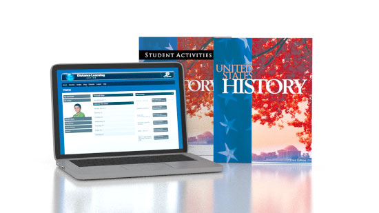 US History Online with Books (3rd. ed.)