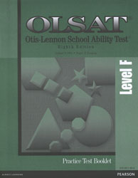 OLSAT Practice Test: Grades 6-8 (Level F, additional student)