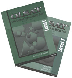 OLSAT Practice Test Kit: Grades 6-8 (Level F, teacher & student)