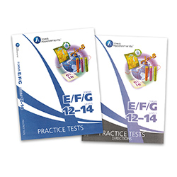 Practice Test Kit for Form E Iowa Assessments: Grades 6-8 (Levels 12-14, teacher & student)