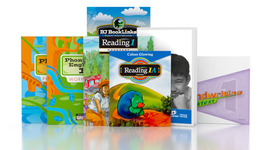Phonics & English, Reading, Handwriting 1 DVD with Books (3rd ed.)
