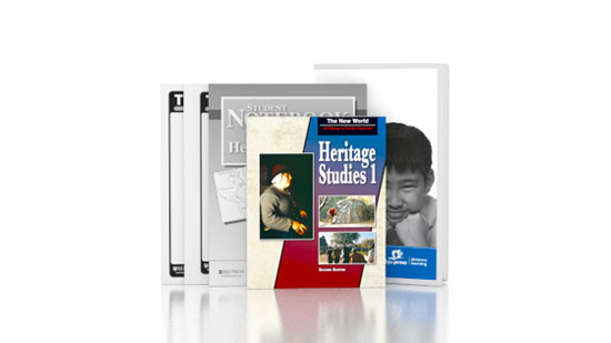 Heritage Studies 1 DVD with Books (2nd ed.)
