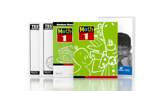 Math 1 DVD with Books (3rd ed.)