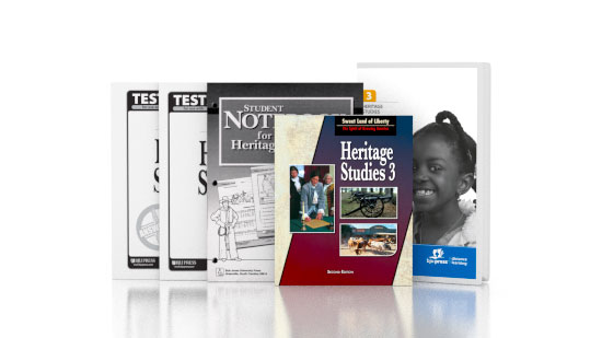 Heritage Studies 3 DVD with Books (2nd ed.)