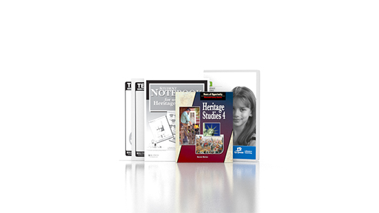 Heritage Studies 4 DVD with Books (2nd ed.)