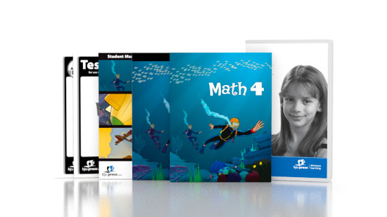 Math 4 DVD with Books (3rd ed.)