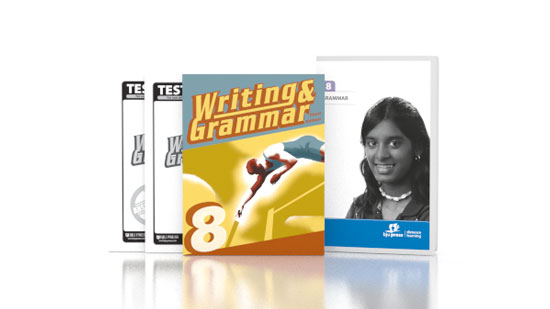 Writing & Grammar 8 DVD with Books (3rd ed.)