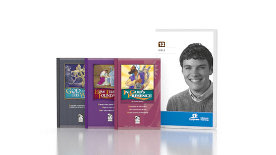 Bible 12 DVD with Books