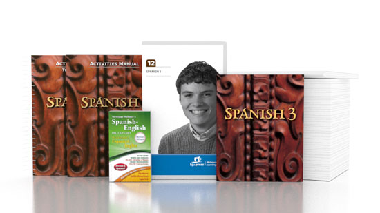 Spanish 3 DVD with Books (1st ed.)