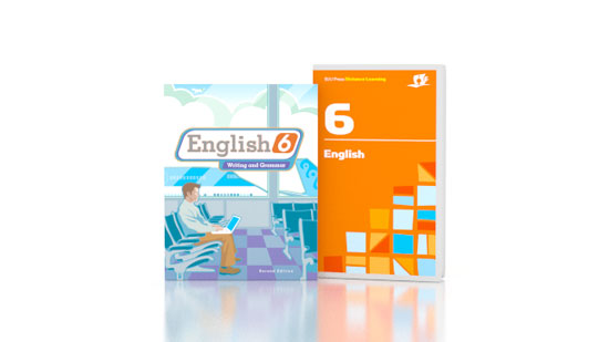 English 6 DVD with Books