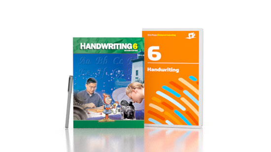Handwriting 6 DVD with Books