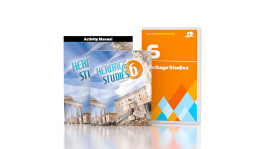 Heritage Studies 6 DVD with Books
