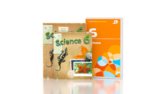 Science 6 DVD with Books