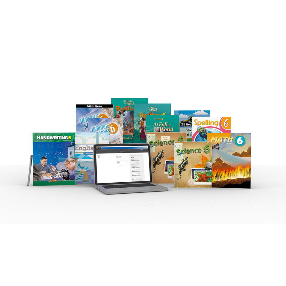 Grade 6 Online with Books