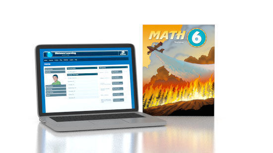 Math 6 Online with Books (3rd ed.)
