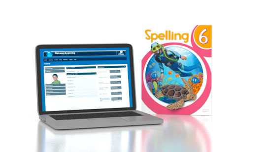 Spelling 6 Online with Books (2nd ed.)
